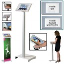 Support s/pied SECURISE position debout p/tablettes IPAD ou Androïd