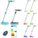 Petite lampe de lecture LED PREMIER PRIX, réglable et inclinable,  5 couleurs au choix
