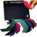 Protège-coiffe en vinyle couleur , le pack de 24 JUSQU A EPUISEMENT DU STOCK