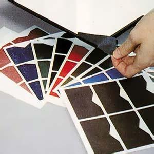 Protège-coin en vinyle couleur, le pack de 96 ROUGE BORDEAUX JUSQU A EPUISEMENT DU STOCK