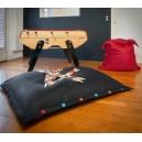 Matelas-coussin détente enfant indoor / outdoor en tissu MESH, imperméable et flottant , lavable et déhoussable