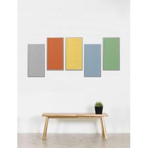 Tableau d'affichage acoustique ECO phono-absorbant pour mur , 4 formats