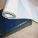PVC épais 200µ spécial renfort des tranches de livres