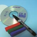 Feutre spécial marquage sur CD noir point fine 0.5mm