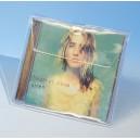 Pochette soufflet avec rabat, sans porte-fiche pour 1 boîtier CD