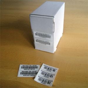 PROMOTION JUSQU'AU 15 FEVRIER Code barre PPP blanc 50x16mm, personnalisation et simple numérotation