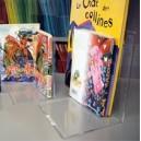 Serre-livres en acrylique transparent HAUTE QUALITE plusieurs formats, les 6