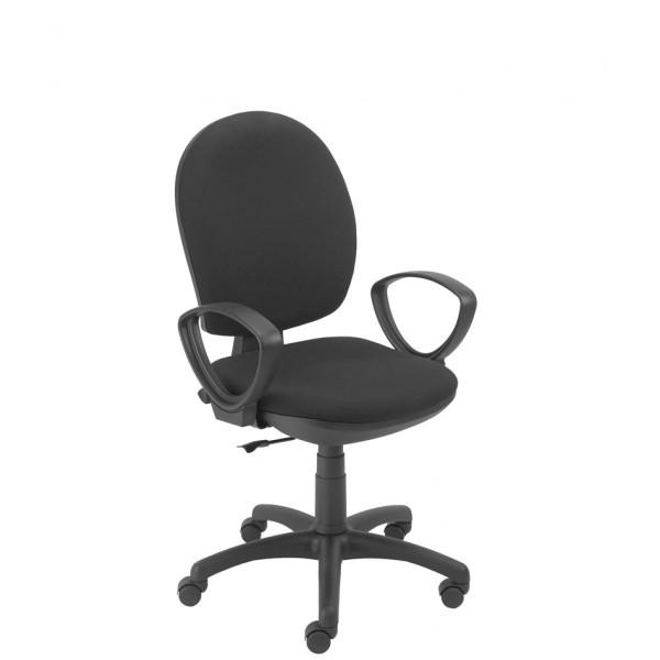 Chaise de travail speciale ado roulettes avec accoudoir for Chaise de travail