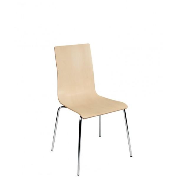 lot 4 chaises coque multiplis htre naturel ou wengu 4 pieds alu lot de 4 - Chaise Coque