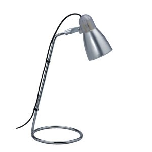 Petite lampe de lecture Design PETIT BUDGET basse consommation finition ALU 9W