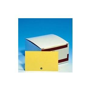 SOLDEES Fiches perforées COULEUR 210g, 7.5 x 12.5cm. Les 500