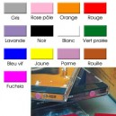 Pastilles adhésives couleur et PLASTIFIEES diam.