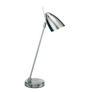 """Lampe de bureau COMPACTE  basse consommation 40W av/abat-jour """"obus"""""""