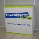 Personnalisation de l'armoire à rideaux basse réf. 1102000 : personnalisation du DOS